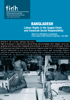 Labour rights in the supply chain and corporate social
